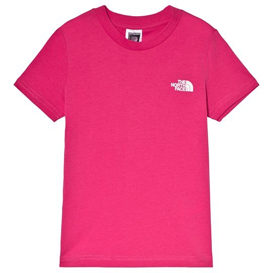 The North Face Pink Simple Dome Logo Tee 79M