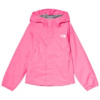 The North Face Resolve Reflective Waterproof Hooded Jacket Pink RR2