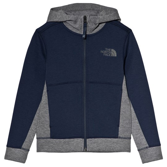 The North Face Navy Slacker Logo Hoodie A7L