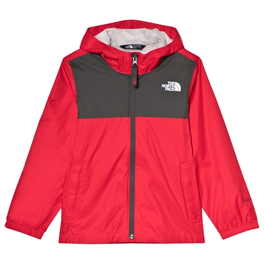becde4a59ff2 The North Face - Red and Grey Zipline Waterproof Rain Jacket ...