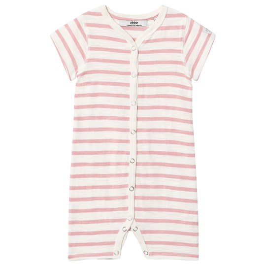 ebbe Kids Lemon Beach Romper Off White/Blush Pink Offwhite/blush pink