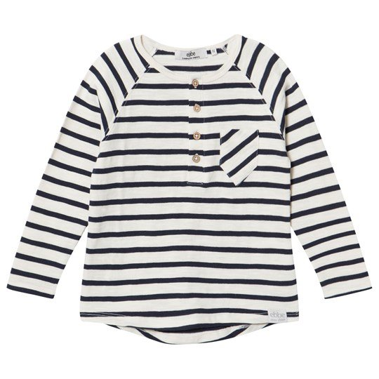 ebbe Kids Lifton Grandpa Tee Off White/Dark Navy Offwhite/dark navy