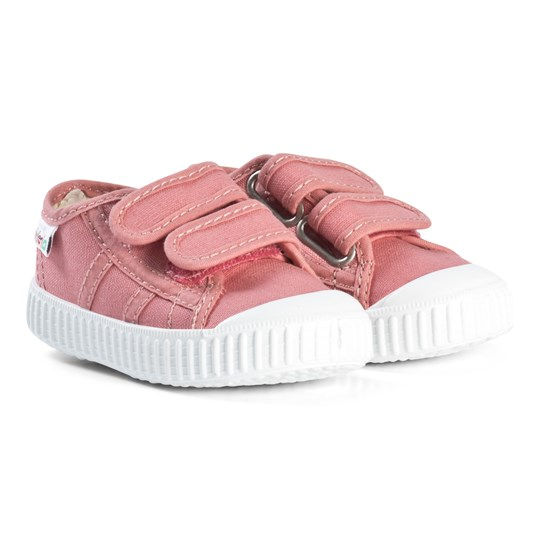 Victoria Canvas Trainers Nude Nude