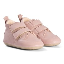 Easy Peasy Pink Izi V Velcro Leather Pre Walker Shoes 41