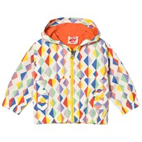 Tootsa MacGinty Multicolored Kite Print Jacket In White Multi