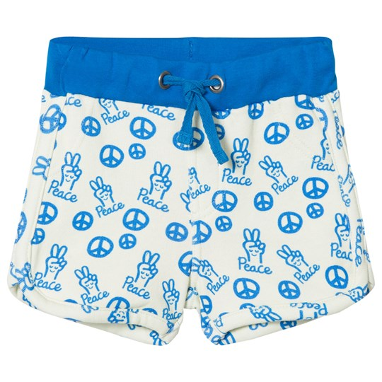 Tootsa MacGinty Peace Sign Jersey Shorts Blå Bright Blue
