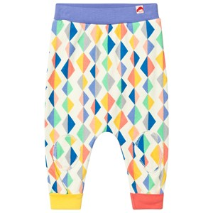 Image of Tootsa MacGinty Multicolored Kite Print Harem Pants In White 6-8 years (3001927465)