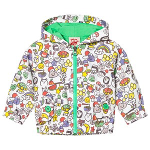Image of Tootsa MacGinty Multicolored Print Jacket In White 12-18 months (3014544993)