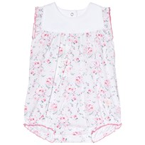 Petit Bateau Floral and White Baby Body