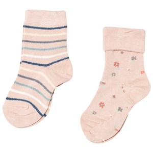Image of MP 2-Pack Bodil Ankle Socks Nude 2 (22/24) (3001922327)
