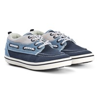 Mayoral Boat Shoes In Blue and Navy 46