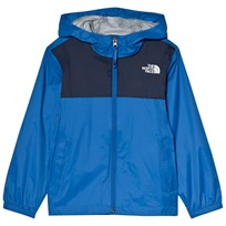 The North Face Blue and Navy Zipline Waterproof Rain Jacket WXN