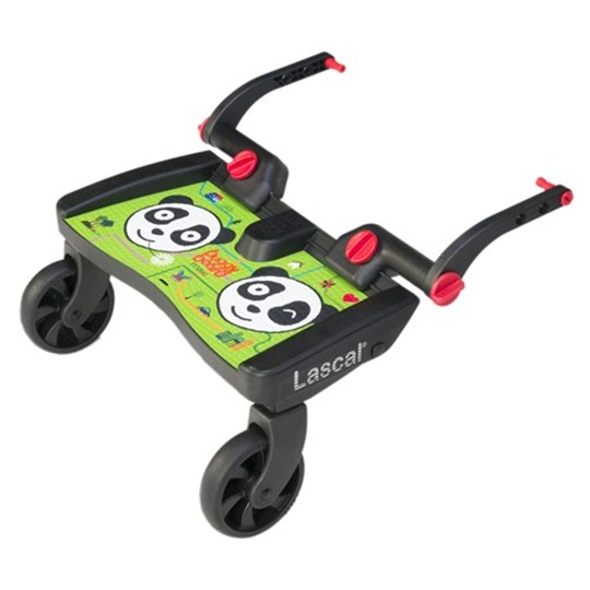 Lascal BuggyBoard® Maxi Panda City Black
