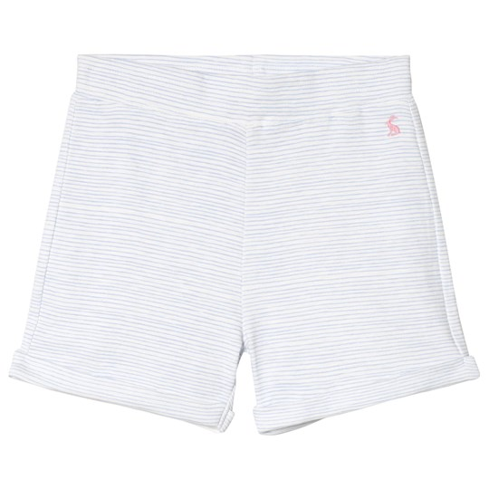 Tom Joule Pale Blue Stripe Jersey Shorts SKY BLUE STRIPE