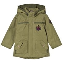Mayoral Khaki Hooded Coat 89