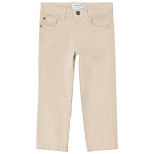 Image of Mayoral 5 Pocket Trousers In Beige 9 years (3003085365)