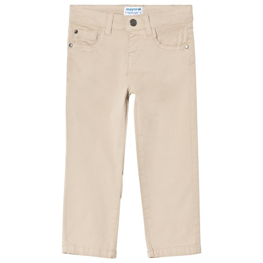 Mayoral 5 Pocket Trousers In Beige 89