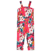 Guess Pink Floral Jumpsuit PU30