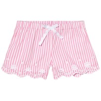 Ralph Lauren Pink and White Eyelet Detail Shorts 001