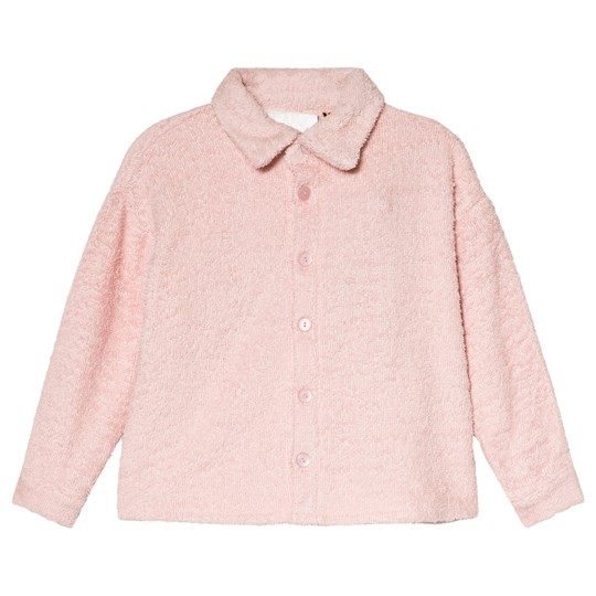 Caroline Bosmans Pale Pink Terry Top Pale Pink