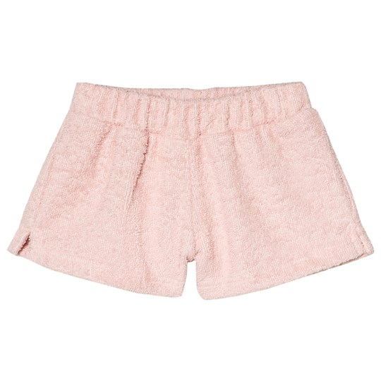 Pale Pink Terry Shorts