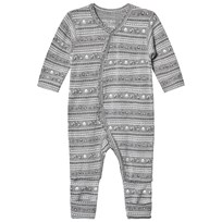 Hust&Claire Light Gray Melange Nightwear Light Grey Melange
