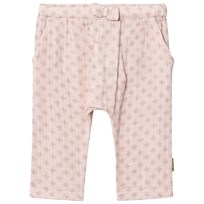 Hust&Claire Peach Whip Print Trousers Peach Whip