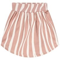 Popupshop Zebra Moon Skirt Rosa/Off White Zebra Rosa/Off White