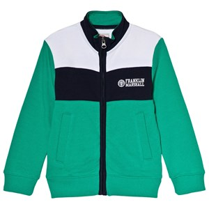 Image of Franklin & Marshall Green Colorblock Sweater 10-11 years (3003086151)