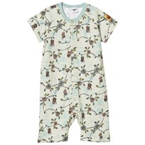 Modéerska Huset Short Sleeve Romper Monkey Business Monkey Business