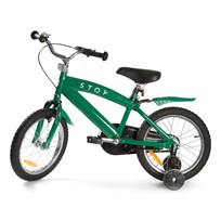 "STOY 16"" Speed Bicycle Green Green"