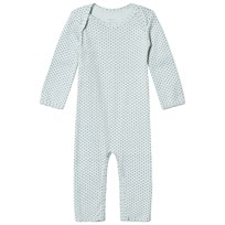 Noa Noa Miniature Cloud Blue Cross Print Jumpsuit cloud blue