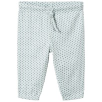 Noa Noa Miniature Cloud Blue Cross Print Pants cloud blue
