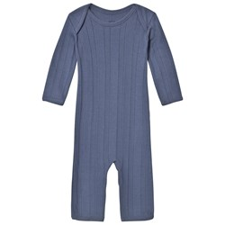 Noa Noa Miniature Long Sleeve Jumpsuit Vintage Indigo