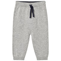 Noa Noa Miniature Gray Drawstring Sweatpants Grey Melange