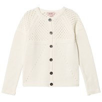 Noa Noa Miniature Chalk Embroidered Long Sleeved Cardigan Chalk