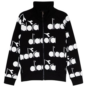 Image of Diadora Black All Over Branded Bomber Sweater M (10 years) (3006285371)