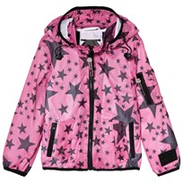 Diadora Mesh Giubbino Jacket Pink and Navy 134