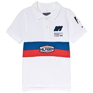 Image of Tommy Hilfiger White Team Tommy Polo Shirt 6 years (3006287787)