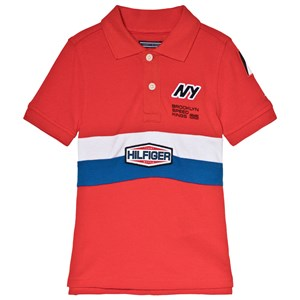 Image of Tommy Hilfiger Red Team Tommy Polo Shirt 5 years (3006287593)