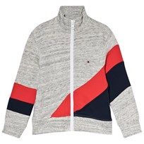 Tommy Hilfiger White, Red and Navy Racing Stripe Track Jacket 060