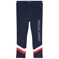 Tommy Hilfiger Navy Colorblock Branded Leggings 002