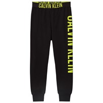 Calvin Klein Black and Yellow Branded Sweatpants 001