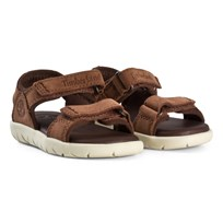 Timberland Nubble Sandals Leather in Cappuccino Cappuccino
