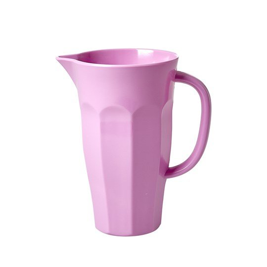 Rice Small Melamine Jug Dark Pink Pink