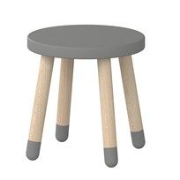 Flexa Furniture Play Stool Grey Urban grey