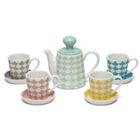 Littlephant Play Porcelain Tea Set Waves/Multi Multi