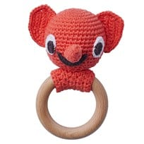 Littlephant Littlephant Rattle Red Red