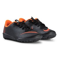 NIKE Black and Orange MercurialX Vapor XII Academy 081