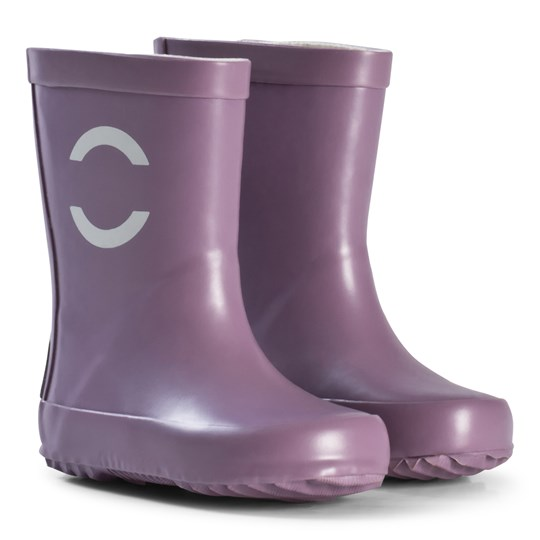 Mikk-Line Solid Wellies Very Grape Very Grape